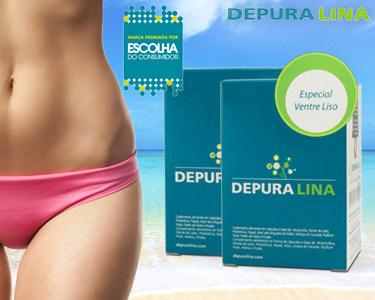 Depuralina® Especial Ventre Liso | 90 ou 180 Cápsulas