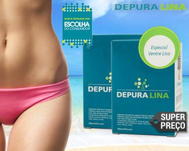Super Preço | Depuralina® Especial Ventre Liso | 90 ou 180 Cápsulas