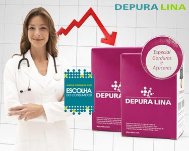 Depuralina® Super Adelgaçante | 90 ou 180 Cápsulas