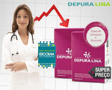 Super Preço | Depuralina® Super Adelgaçante | 90 ou 180 Cápsulas