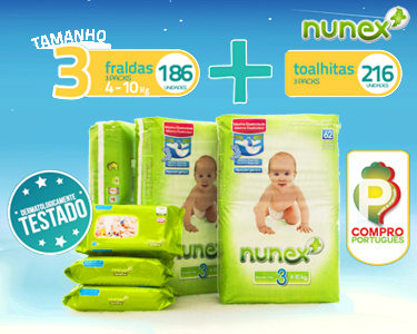 Pack Mensal Bebé | Toalhitas & Fraldas T3 4-10KG