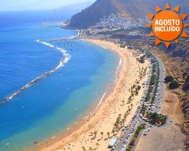 Verão Quente a Dois em Tenerife | 5 ou 7 Noites com Tudo Incluído