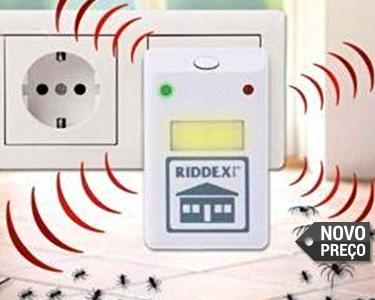 Repelente Eléctrico de Insectos e Roedores | Proteja a sua Casa