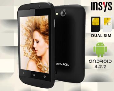 Smartphone Insys® Android 4.2 Dual Sim | Agora 4GB Memória Interna