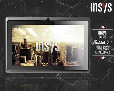 Tablet 7' INSYS   Android 4.2 - O Tablet Que Se Transforma em Portátil