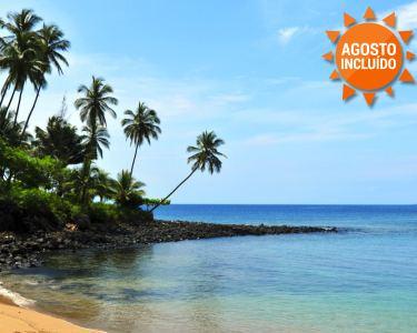 São Tomé & Ilhéu das Rolas | Voos + 7 Noites