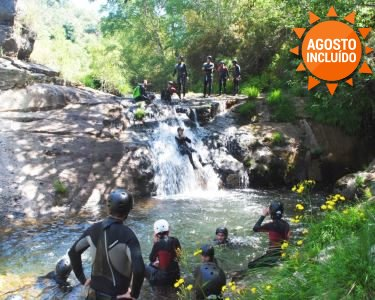 2 Noites + Canyoning | Visite as Cascatas Naturais do Gerês
