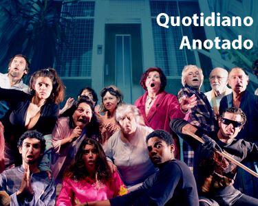 «Quotidiano Anotado» de Rui Camacho e encenação de Paula Sousa | Teatro da Comuna