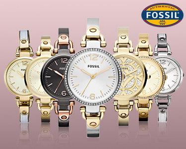 Relógios Fossil® Modelo Georgia | Estilo Vintage