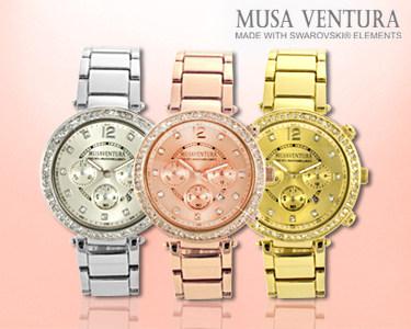 Relógios Glanz com Swarovski Elements® | Elegância & Sofisticação
