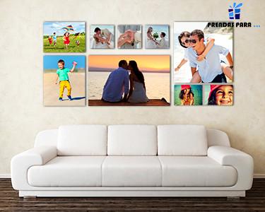 Super Preço - Tela com Foto 100% Personalizada | 10 Tamanhos à Escolha