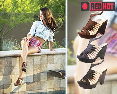 Sandálias Cunha RedHot® | 3 Cores à Escolha