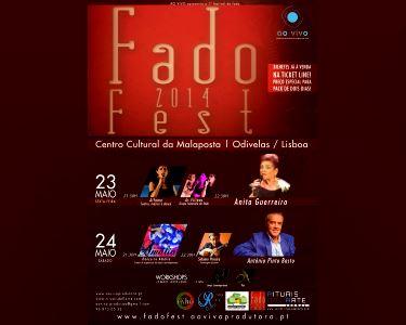 Fado Fest 2014 Alfama & Anita Guerreiro | Escolha o Artista