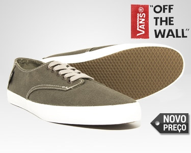Ténis Vans® E-street Charcoal | Living Off the Wall