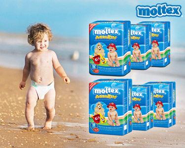 Fraldas Moltex® Aquakids | Escolha o Tamanho