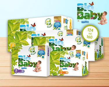 Fraldas Descartáveis Bio Baby | Escolha o Tamanho e Quantidade