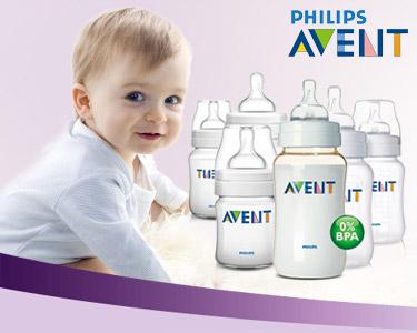 Cabaz Philips Avent® | O Biberão para o seu Bebé
