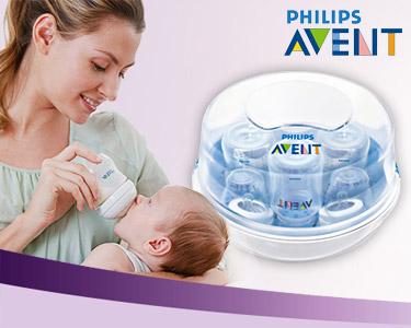 Esterilizador a Vapor para Microondas Philips AVENT®
