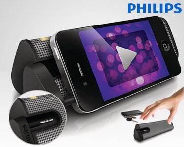 Coluna Portátil Philips® | Leve & Compacta