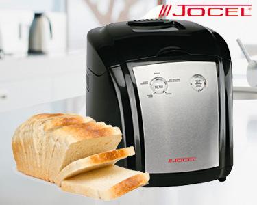 Máquina de Fazer Pão Jocel® | 5 Programas para Diferentes Receitas