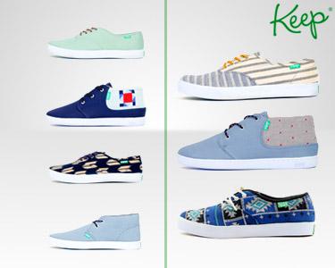 Ténis Vegan Keep Shoes® | Simples e Puros
