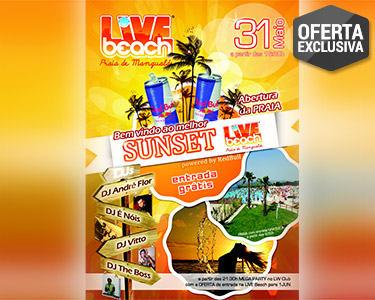 Mangualde «Live Beach»   Festa de Abertura + Noite & Jantar