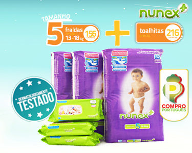 Pack Mensal Bebé | Toalhitas & Fraldas T5 13-18KG