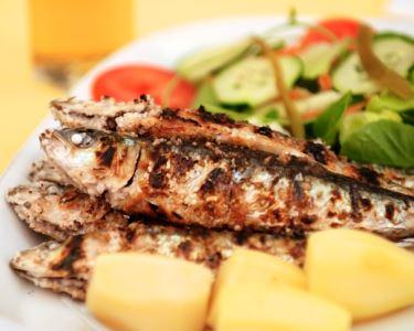 Sardinhas, Buffet & Bebidas | Jantar a Dois no Giramar