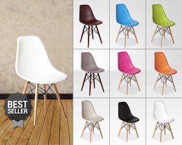 Cadeira Tower Wood | Design e Cor em Sua Casa