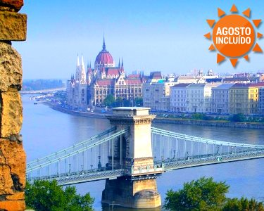 Budapeste   2 Noites em Hotel 4* + Sightseeing + Cruzeiro no Danúbio