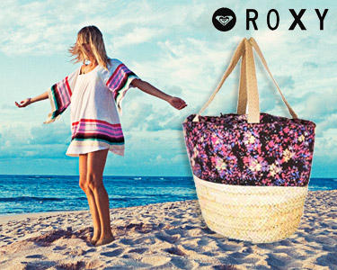 Saco de Praia Roxy® | Verão com Muito Estilo