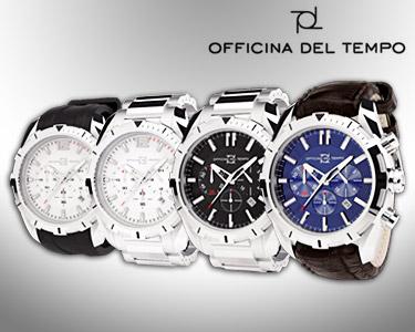 Relógios Officina Del Tempo® | Modelos Master Chrono