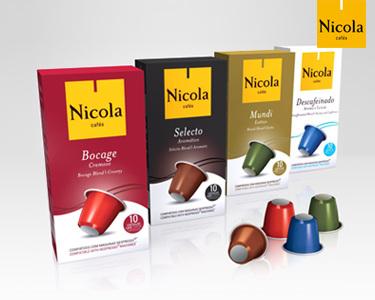 Pack 100 ou 200 Cápsulas de Café Nicola® | Compatíveis com Nespresso®