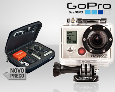 Câmara GoPro HD HERO2 Surf Edition | Inclui Bolsa de Transporte