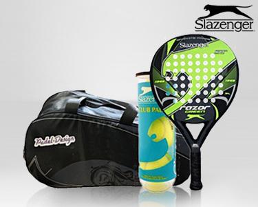 Set de Pádel Slazenger® Razor Green | Escolha a sua Opção