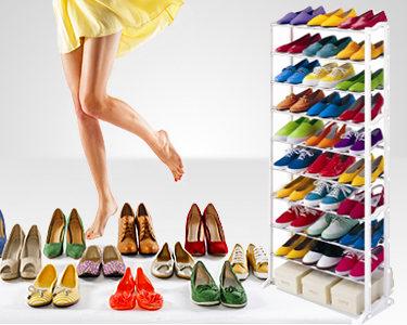 Organizador de Sapatos 30 Pares | Prático & Funcional
