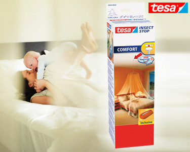Rede Anti-insectos Tesa® | Para a sua Protecção e dos seus Filhos
