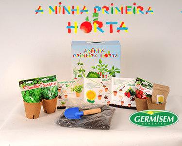 Kit 'A Minha Primeira Horta' | Girassol, Rabanetes, Coentros e Salsa