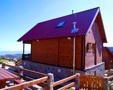 Chalés da Montanha - Noite de Verão até 6 Pessoas na Serra da Estrela