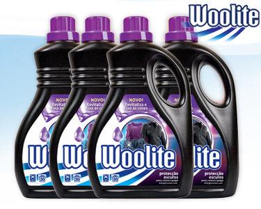 Woolite® Extra Protecção Escuros   4 Embalagens - 120 Lavagens