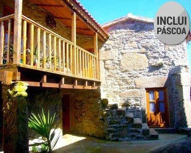 Turismo Rural | 3, 5 ou 7 Noites na Casa do Monge & Praia Fluvial