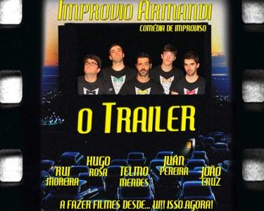 «O Trailer» | Estreia para Dois no Teatro da Comuna