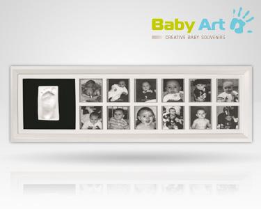 Primeiro Ano do seu Bebé em Moldura Baby Art®