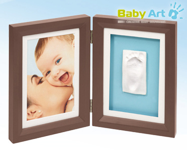 Moldura 2 em 1 Baby Art® | Escolha a Cor da Moldura
