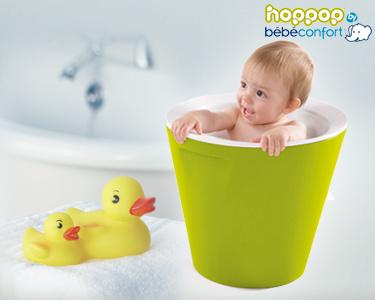 Banheira Hoppop®   Para um Banho Mais Seguro e Tranquilo