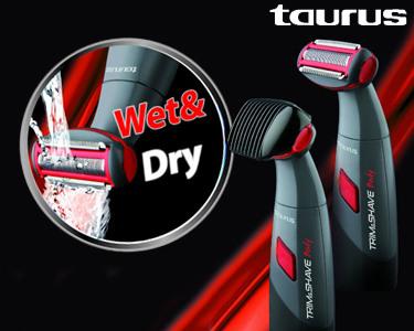 Aparador Corporal Trim & Shave | Sistema Wet & Dry