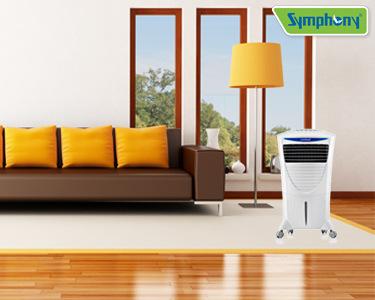 Climatizador Evaporativo Symphony® | Refresque a sua Casa