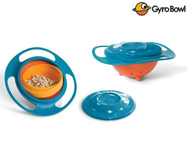 Tigela Gyro Bowl | Gira 360º e Não Verte os Alimentos