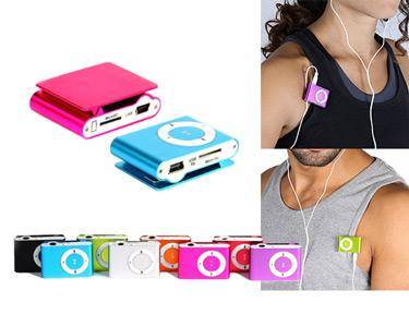 Mini MP3 com Clip   8 Cores Disponíveis
