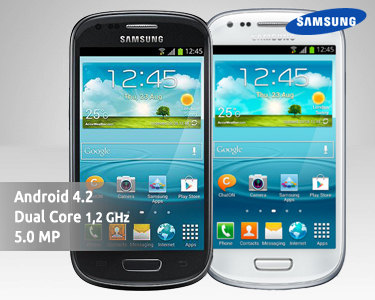 Smartphone Samsung® Galaxy S3 Mini - i8200 VE | Azul, Branco ou Preto